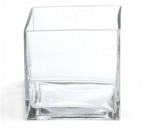 square glass vase square white vase vases
