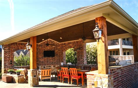 Outdoor Patio Covers by Outdoor Kitchen Freestanding Patio Cover In The