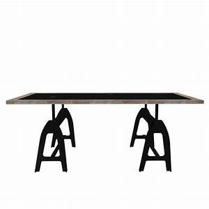 Table Industrielle Maison Du Monde : dining table metropolitan design and decorate your room in 3d ~ Teatrodelosmanantiales.com Idées de Décoration