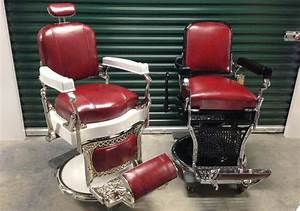 Antique Barbers Chairs Styles Brands And Repros