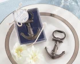 nautical wedding gifts anchor bottle opener nautical wedding favors