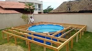 above ground pools decks idea swimming pool deck designs With above ground swimming pool deck designs
