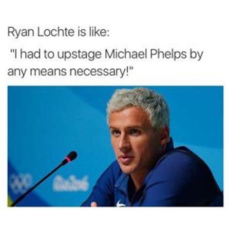 Ryan Lochte Meme - michael phelps jokes kappit
