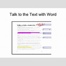 Reading Apprenticeship Using Word To Talk To The Text