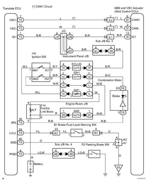 Brake Warning Light Switch Diagram by Ok Vsc Trac Warning Light Oderates Toyota Sequoia 2006