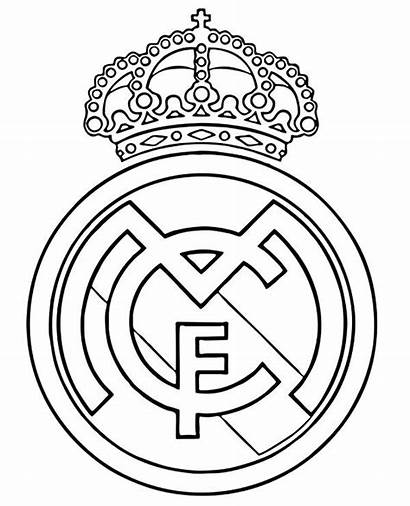 Madrid Coloring Pages Drawing Ronaldo Cristiano Soccer