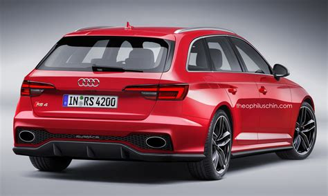 Audi Rs4 Sportback by Us May Get Next Generation Audi Rs4 As An Avant Or Rs5