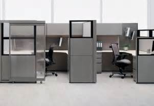 Dual Monitor Adjustable Standing Desk by Minimalist Workstation Modern Office Cubicle Design