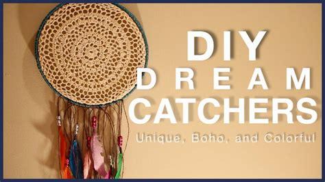 Diy Dream Catchers! Unique, Bohemian, Colorful Youtube