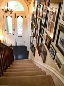 50, Creative, Staircase, Wall, Decorating, Ideas, Art, Frames
