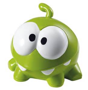 Om Nom Cut the Rope Toy