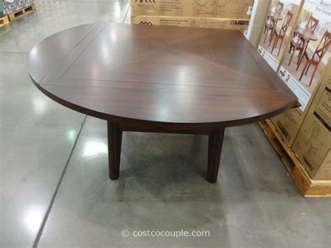 costco dining table in store regal living beckett drop leaf dining table