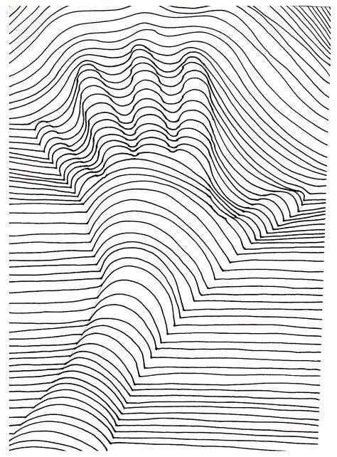 op art illusion optique main optical illusions op art