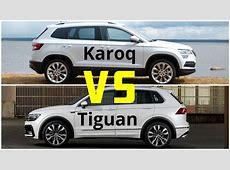 Skoda Karoq VS Volkswagen Tiguan Autonytt