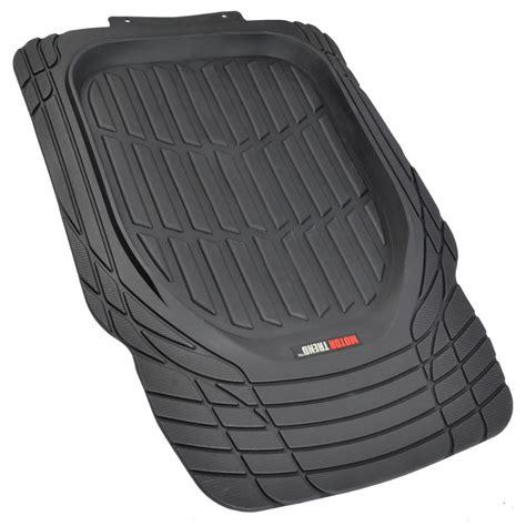rubber car floor mats dish heavy duty rubber car floor mats 4pc front rear