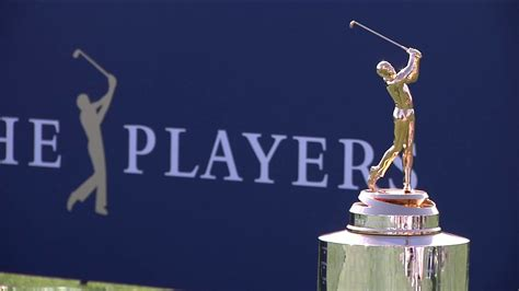 players championships  trophy turns heads