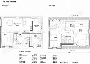 cuisine plan de maison traditionnelle et contemporaine With plan de maison 120m2 8 constructeur de maisons contemporaines constructeur de