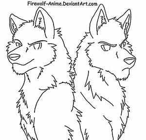 Anime Wolf Coloring Pages - Coloring Home