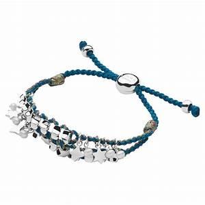 Links of London Womens Christmas Star Friendship Bracelet ...