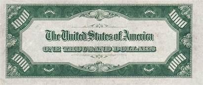 1000 Dollar 1934 Bill Usd Reverse Note