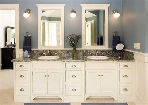 White Cabinets In Bathroom by 25 White Bathroom Cabinets Ideas Home White