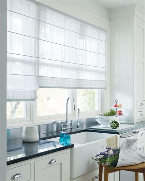 white kitchen window treatments window treatments design