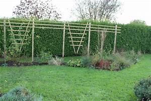 Support Pour Rosier Grimpant : les nouvelles palissades le jardin de bene ~ Premium-room.com Idées de Décoration