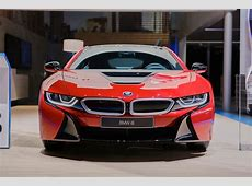 BMW Presents i8 Protonic Red Special Edition live photos