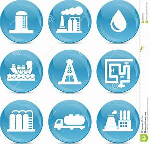 Oil And Gas Related Icons Royalty Free Stock Photo - Image ...