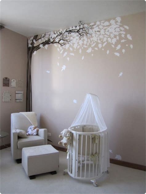chambre bebe decoration decoration chambre bebe arbre visuel 5