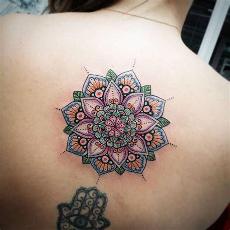 colorful mandala tattoo ideas  pinterest