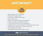 "Other ways to say ""happy birthday"" | MyEnglishTeacher.eu ..."