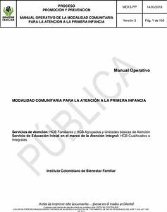 Mo15 Pp Manual Operativo Modalidad Comunitaria Primera