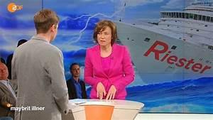 Riester Rente Berechnen Formel : riester talk bei maybrit illner r cken kaputt knie kaputt und nur 730 euro rente tv ~ Themetempest.com Abrechnung