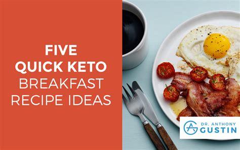 5 Quick Keto Breakfast Recipe Ideas