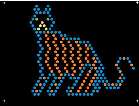 printable light bright patterns lite brite refills animal theme pack