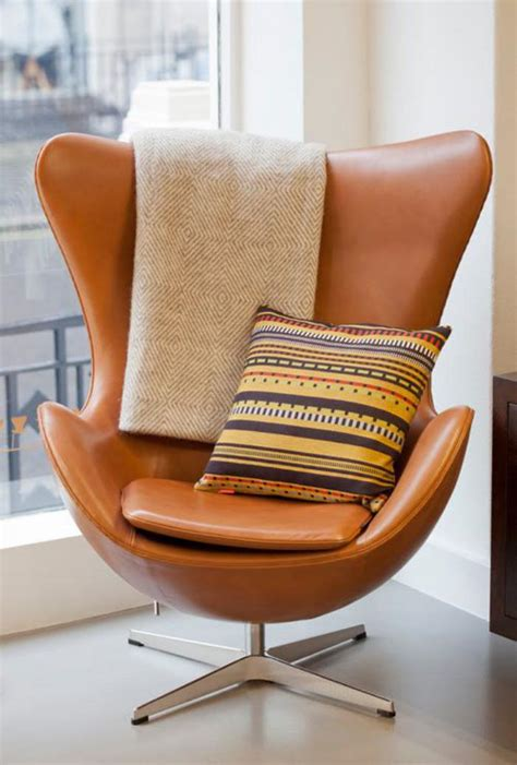 chaise oeuf le fauteuil oeuf un meuble cocoon indémodable