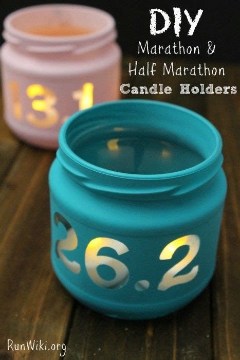 easy diy marathon  marathon candle jar candle jars