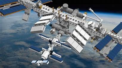Station Space Lego International Nasa Iss Bouwsteentjes