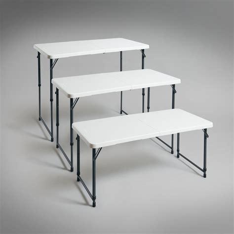 table bureau pliante table pliante reglable en hauteur 28 images hartleys