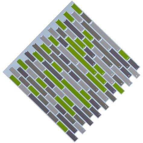 peel and stick wall smart mosaic kitchen backsplash peel
