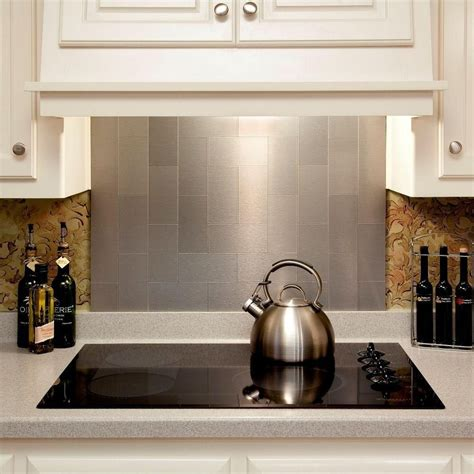 stick on backsplash peel and stick backsplash tiles for kitchen 3 quot x 6