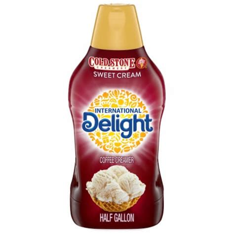 Inspired by the rich, sweet taste of cold stone creamery ice cream, international delight cold stone creamery sweet cream coffee creamer turns your cup of coffee. Kroger - International Delight Cold Stone Sweet Cream Coffee Creamer, 1.89 L