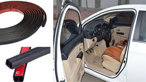 5m Auto Car Door Seal Strip Anti-dust Wind Sound Rubber
