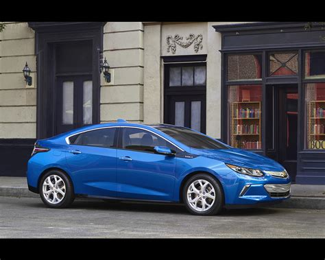 Chevrolet Electric Volt With Range Extender 2016