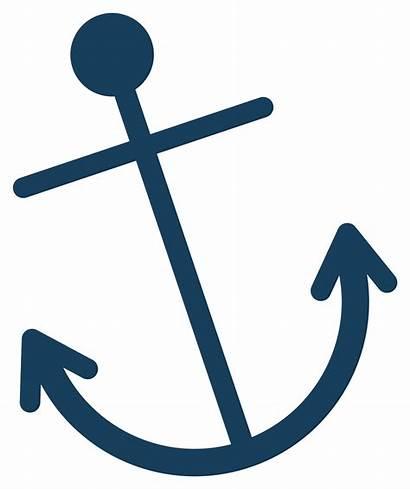 Anchor Clipart Clip Navy