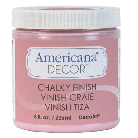 americana decor chalky finish paint 2 oz decoart americana decor 2 in waxing brush adb01 w
