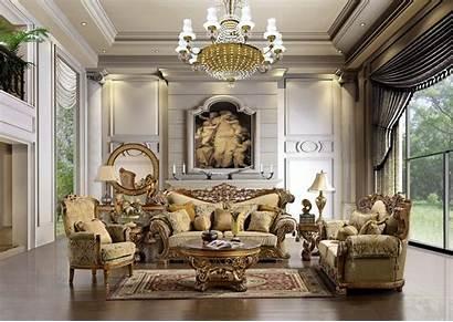 Living Elegant Rich Rooms Furniture Livingroom Designs
