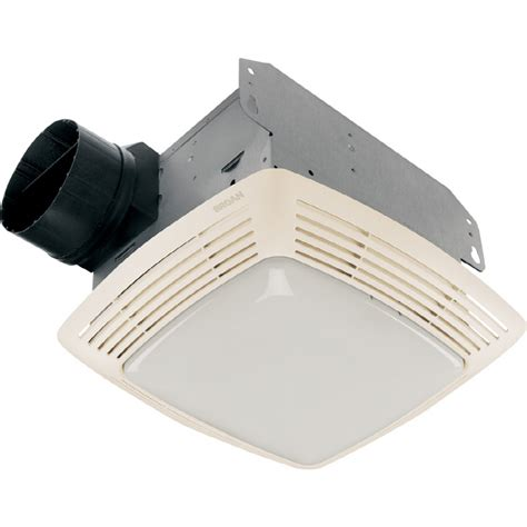 lowes broan bathroom fan shop broan 2 5 sone 80 cfm white bathroom fan at lowes com