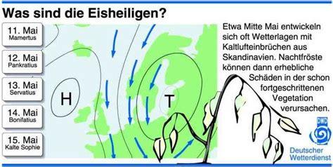 Datum Der Eisheiligen by Mitten Unter Eisheiligen Wetterdienst De